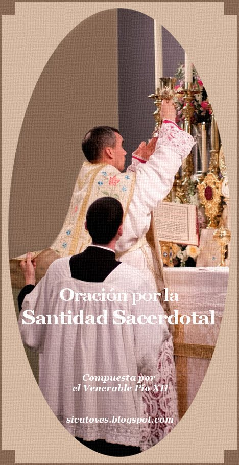 Oración por la Santidad Sacerdotal