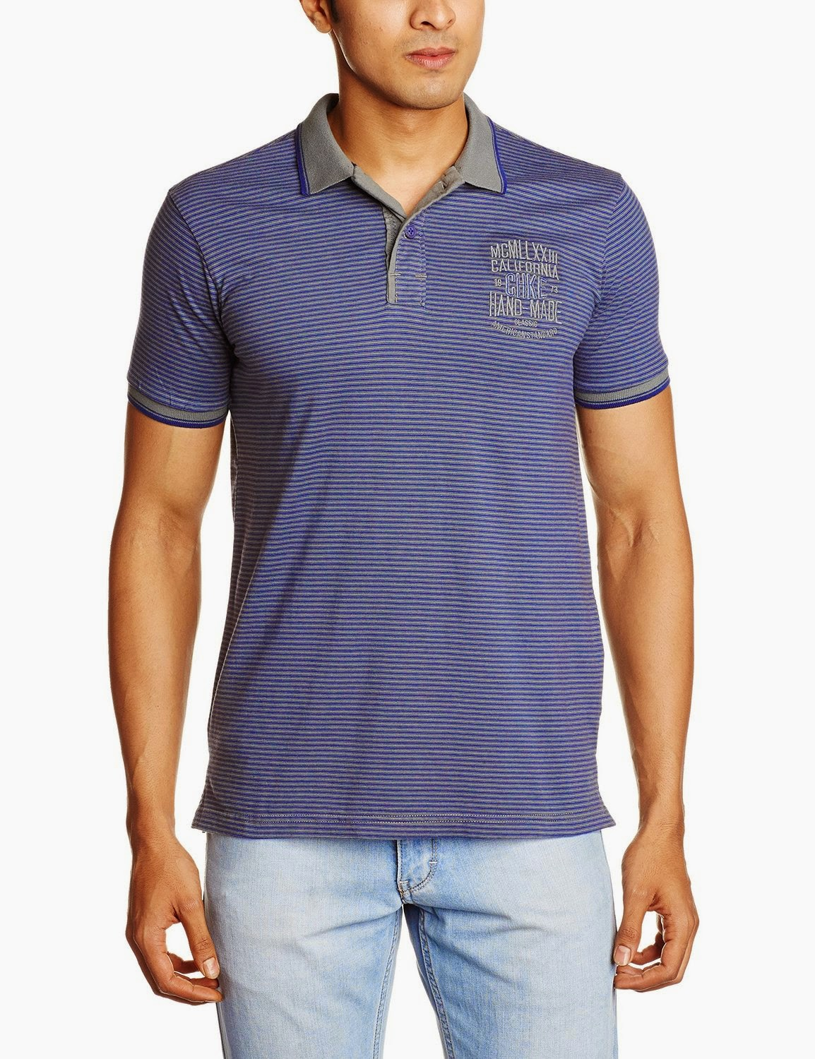 Buy Cherokee Men's Cotton Polo Shirt Rs. 359 only at Amazon.