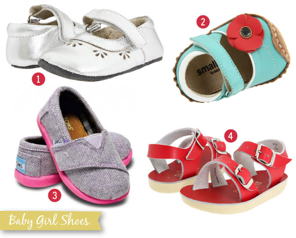 With This Nest...: Baby Girl Shoes
