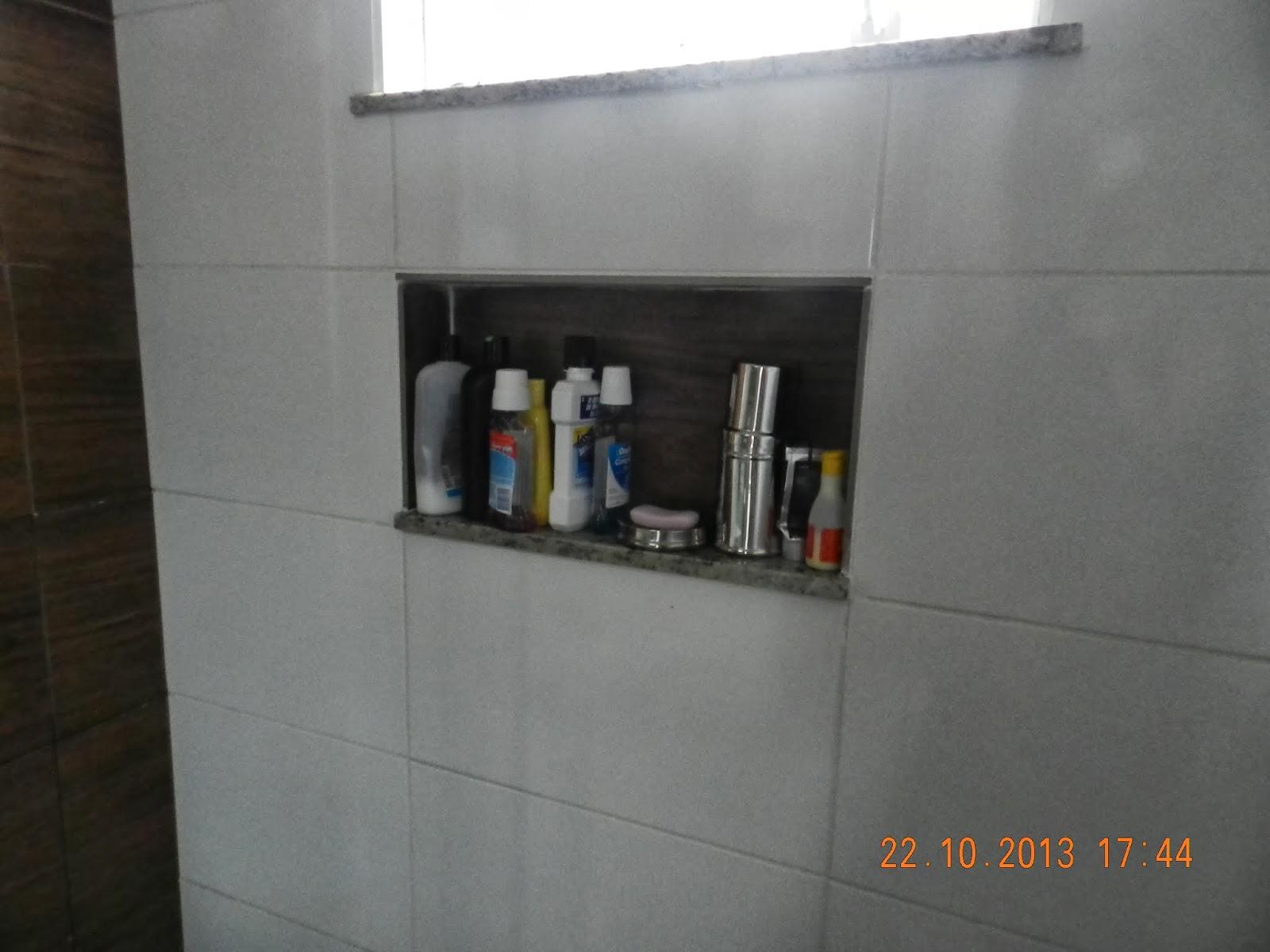 Meu nicho do banheiro social *lindo de viver* #614333 1600 1200