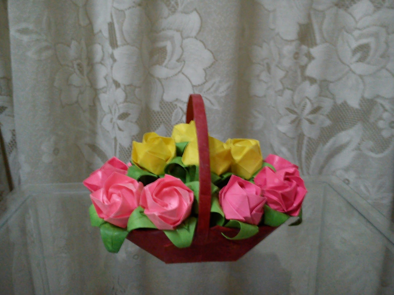 Origami A Flower Basket