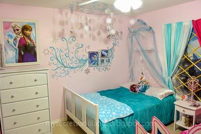 My Secret Vanilla Life Disney 39 S Frozen Inspired Bedroom