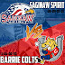 Game Preview: Barrie Colts vs Matthew Kreis and the Saginaw Spirit. #OHL