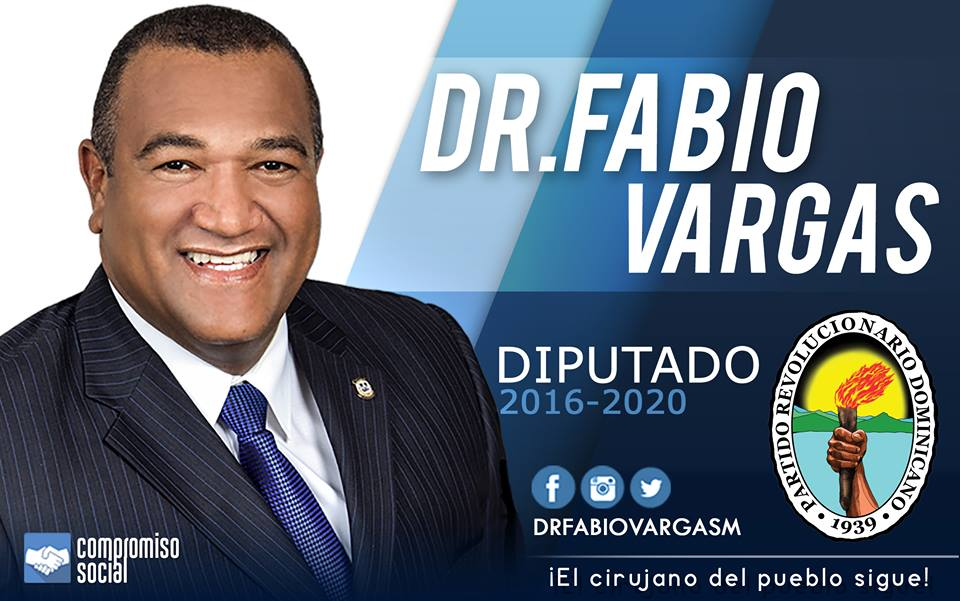 FABIO VARGAS, DIPUTADO PRD BARAHONA 2016-2020