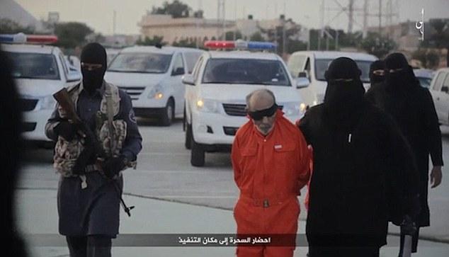 ISIS executa dois feiticeiros na Líbia