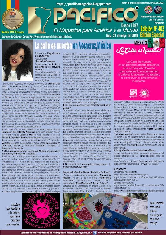 Revista Pacifico N° 403 Edición Especial México