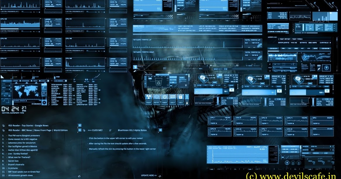 free download Top 5 inspiring windows 7 themes for Hackers