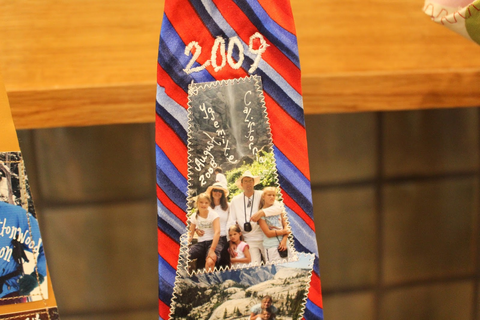 Handmade Fathers Day Tie 2009 - Aimee Ferre
