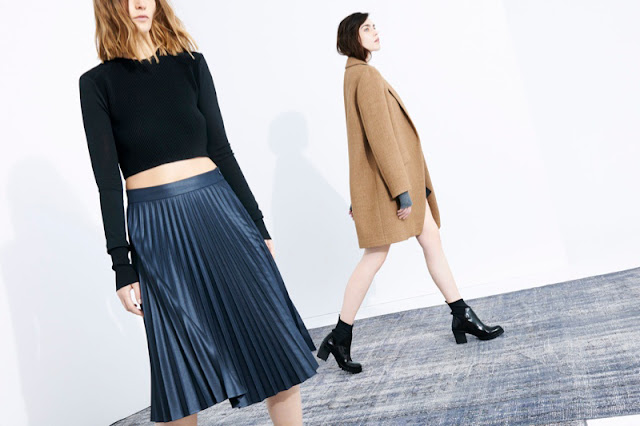Zara is launching a lookbook from their new Fall/Winter 2013...