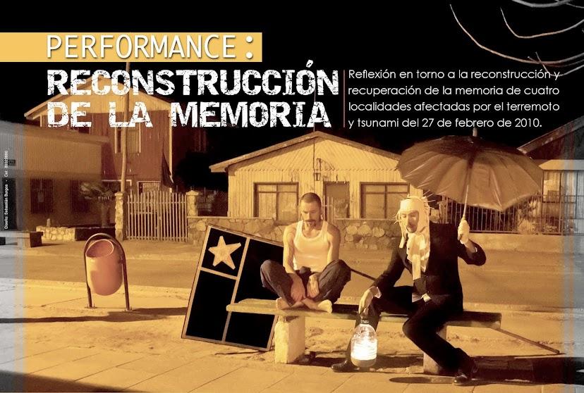 Performance:                                        Reconstrucción de la Memoria
