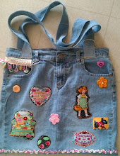 Recycled Denim Jean Bag