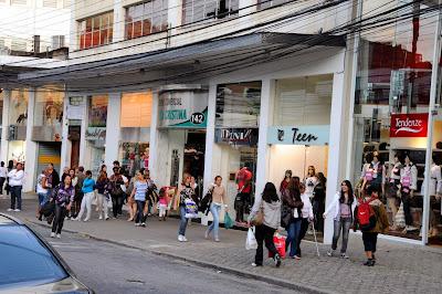 Rua Teresa en Petrópolis, Brasil