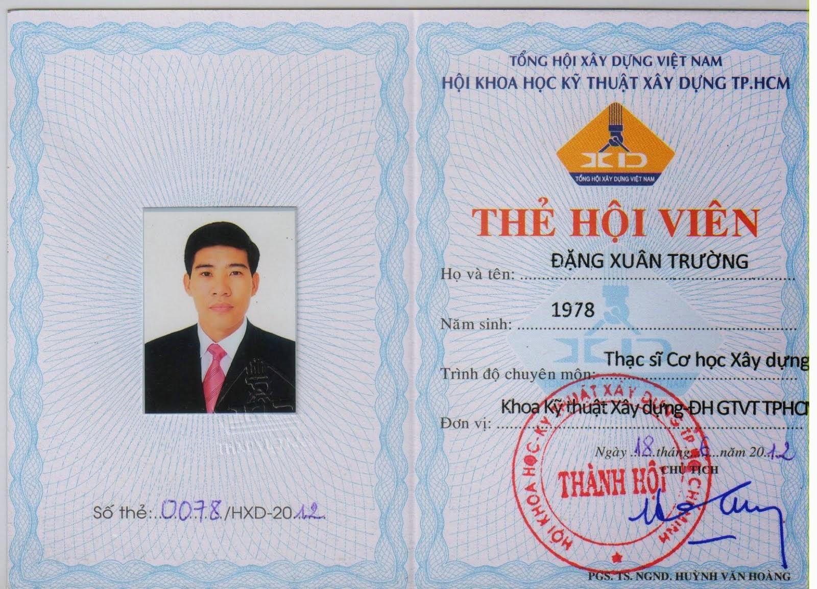 HV Hội KHKTXD TP.HCM