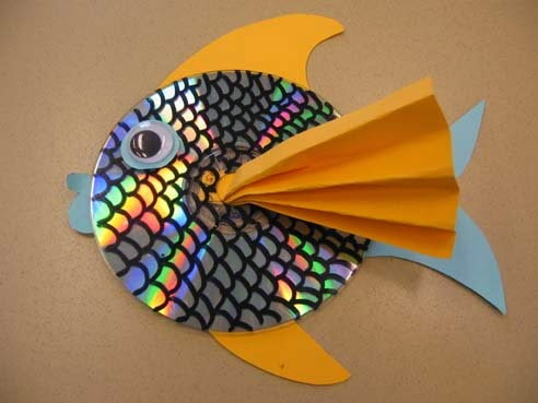 low cost creative idea for home decoration decorative fish made