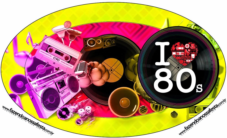 A os 80 etiquetas para candy bar para imprimir gratis for Decoracion 80 90