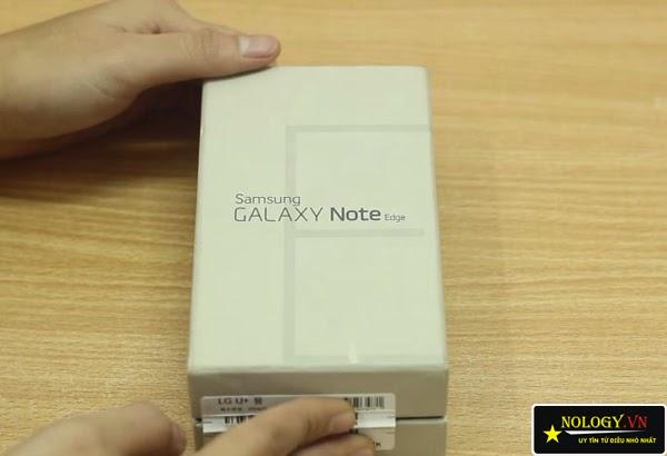 Test điện thoại Samsung Galaxy Note Edge.
