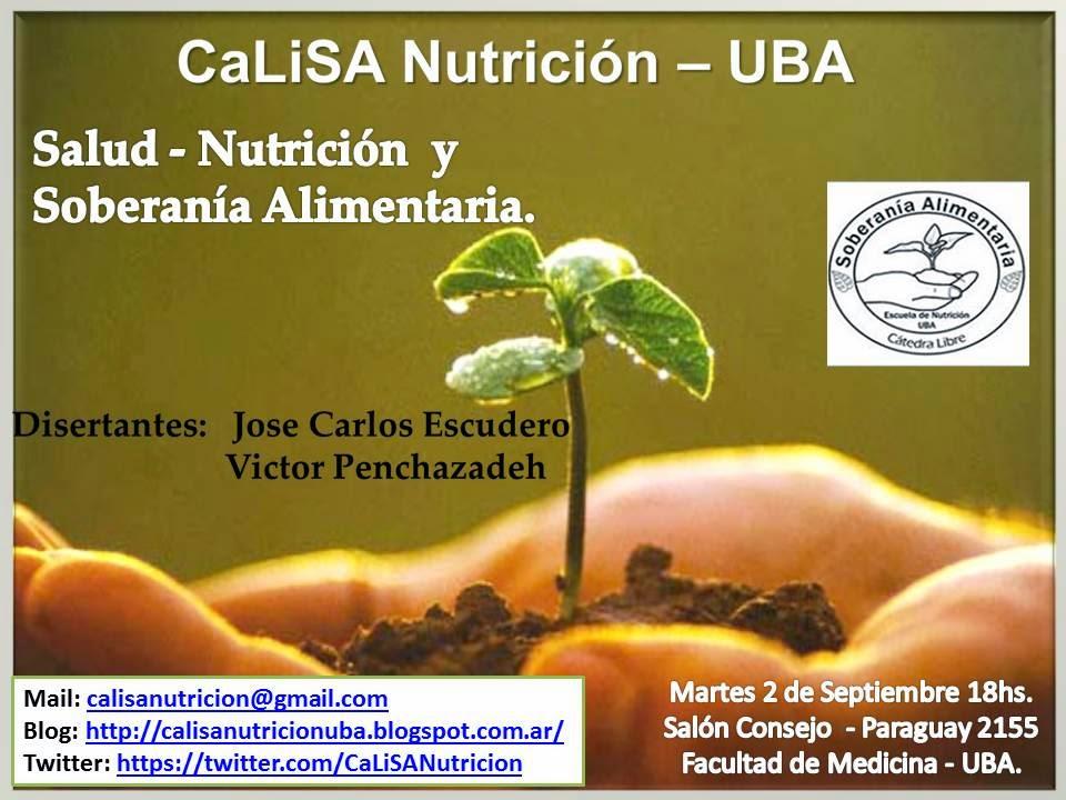 Cátedra Libre de Soberanía Alimentaria - Escuela de Nutrición - UBA ...