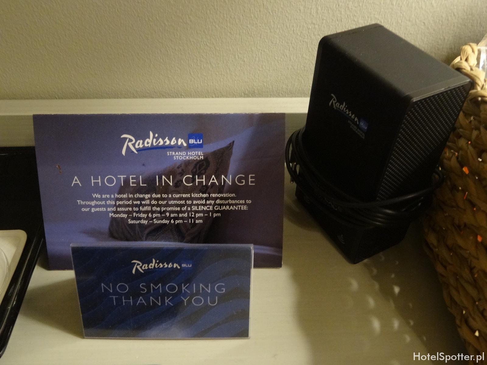 Radisson Blu Strand Hotel, Stockholm - przenosny glosnik