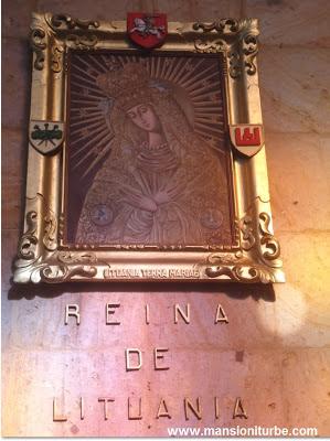 Virgin of Lituania in Tacambaro