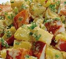 Classic Red Potato Salad with Lobster