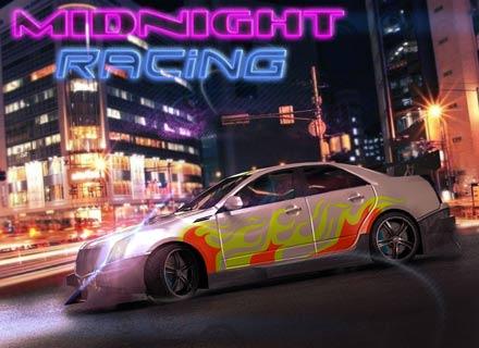 لعبة السيارات سباق منتصف الليل Midnight Racing