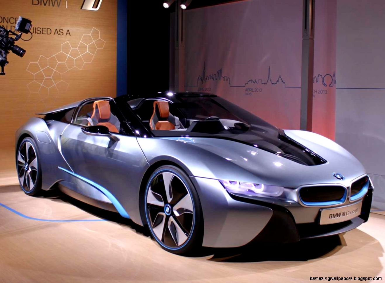BMW i8 and i3 Electric Car Concepts   Business Insider