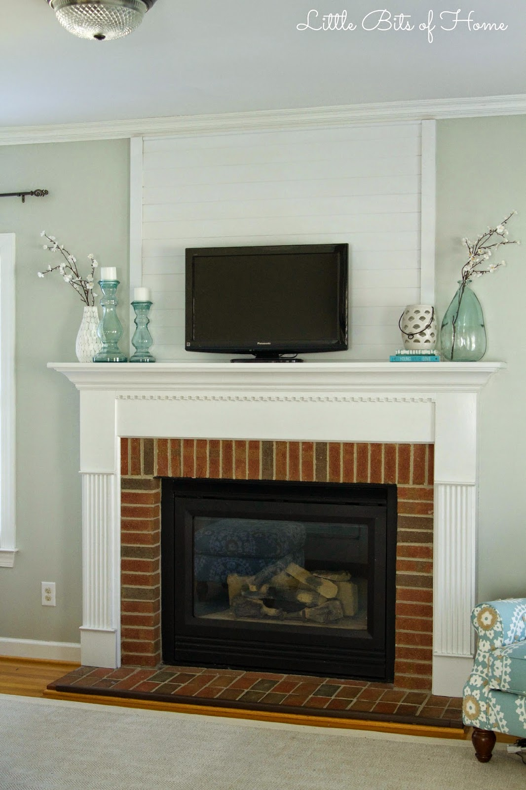Fireplace Mantle Etsy Pottery Barn Fireplace Screen ~ dact.us