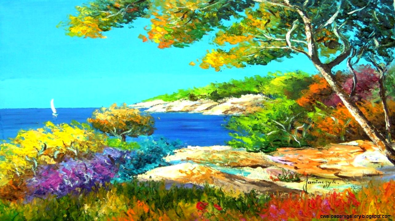 Beautiful Paintings Of Nature By Famous Artists