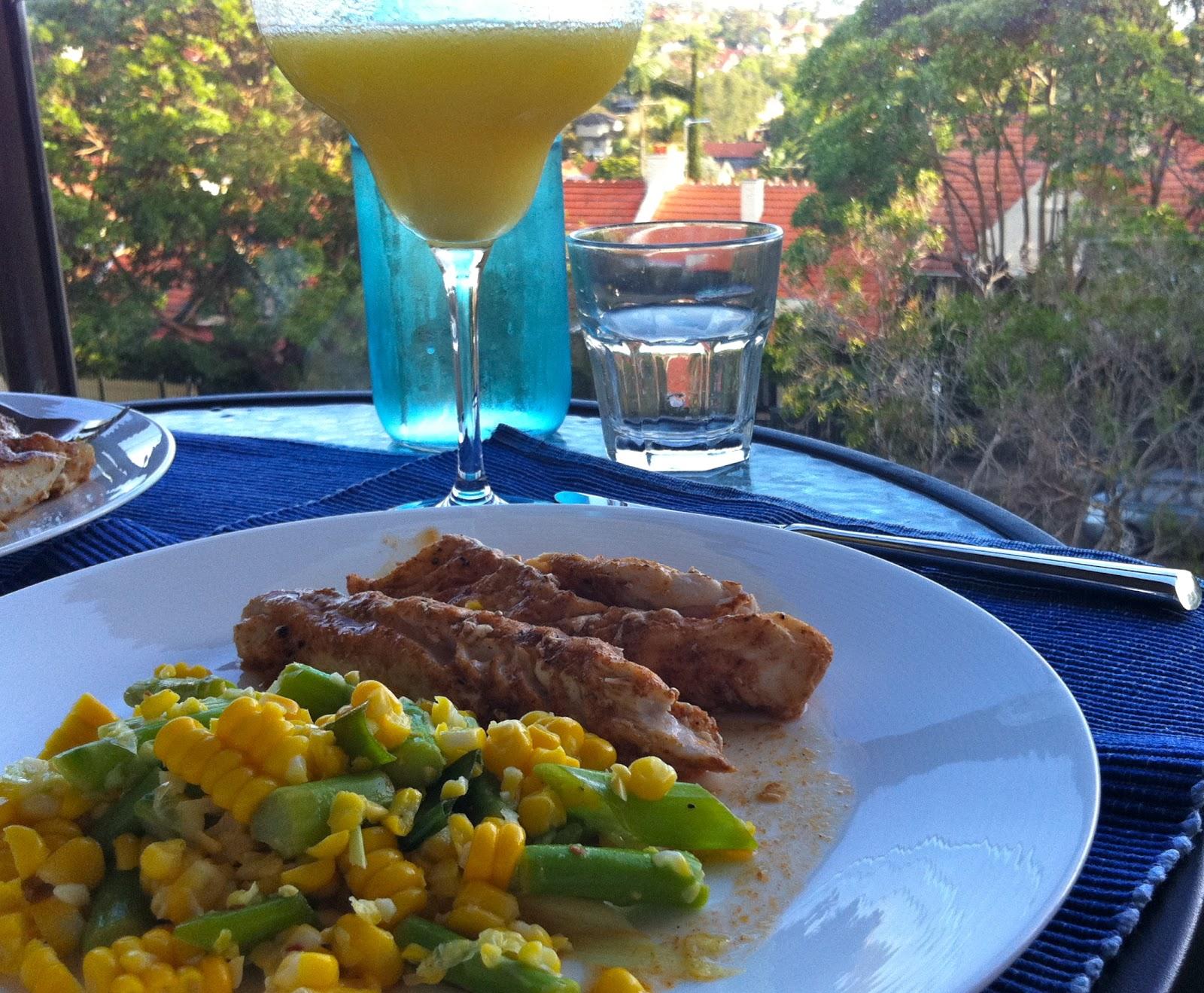 : Corn & Asparagus Salad with Spicy Lime Vinaigrette, Smokey Paprika ...