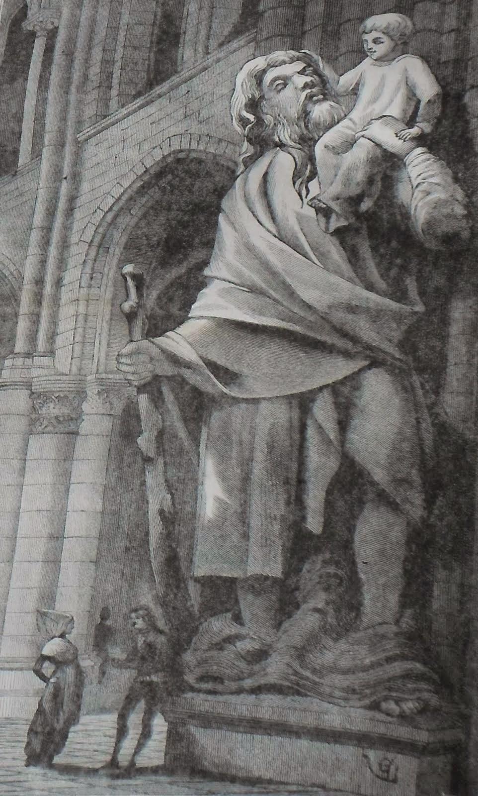 Le colosse de Notre Dame de Paris