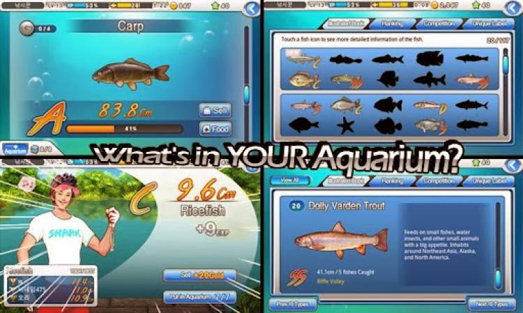 صورة من لعبة صيد السمك Fishing Superstars