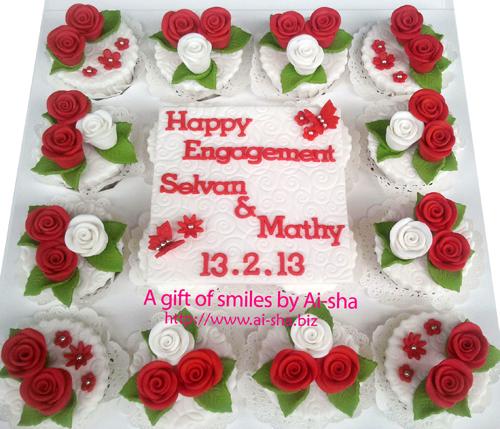 Engagement Cake Ai-sha Puchong Jaya