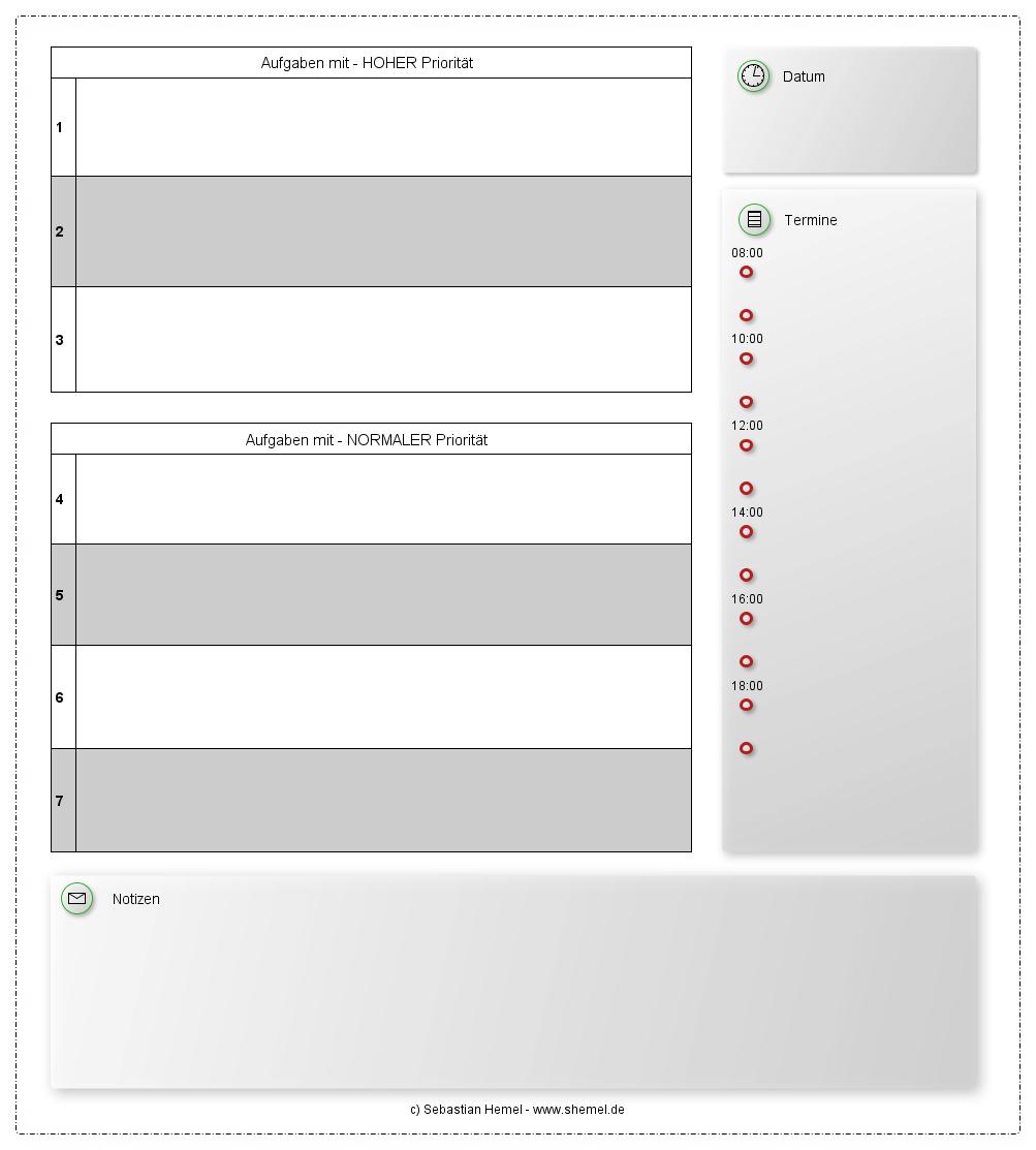 Fein Aufgabenplaner Vorlage Fotos - Beispiel Business Lebenslauf ...