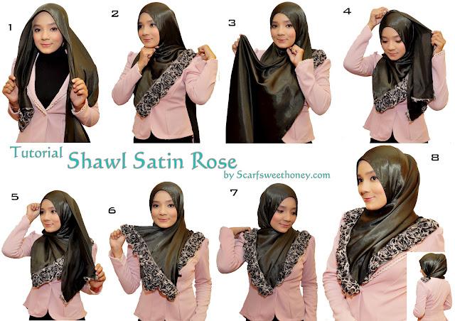 Tutorial Cara Memakai Hijab Lengkap 90 Gaya (Bagian 3)