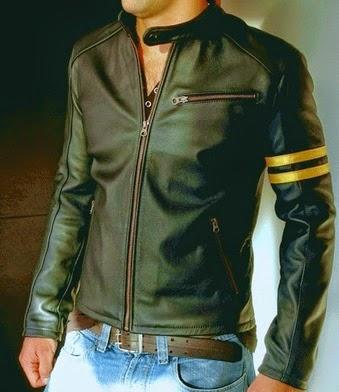 Gambar Jaket Kulit Asli Model Wolverine