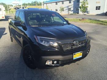 New Black Edition Honda  Ridgeline