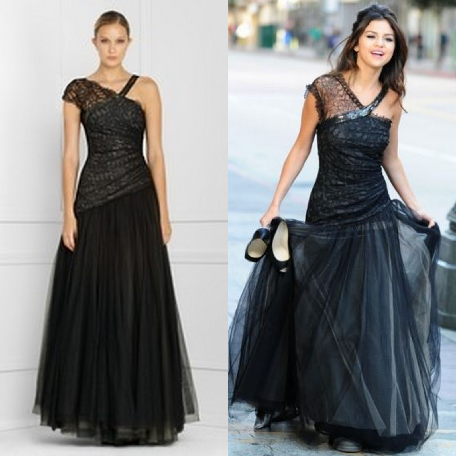 Frills and Thrills: Selena Gomez in BCBG Evening Gown