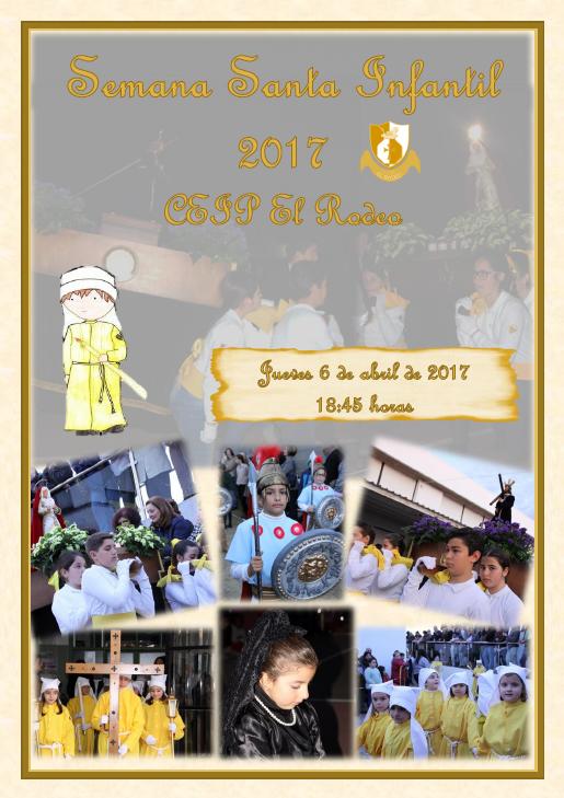 Semana Santa Infantil 2017