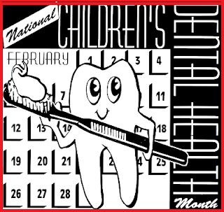 nationalchildrens dental health month banner