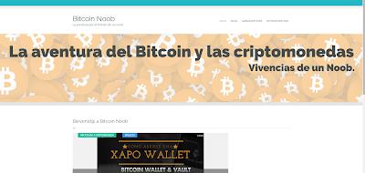 bitcoin-noob.tk la web de un noob del Bitcoin
