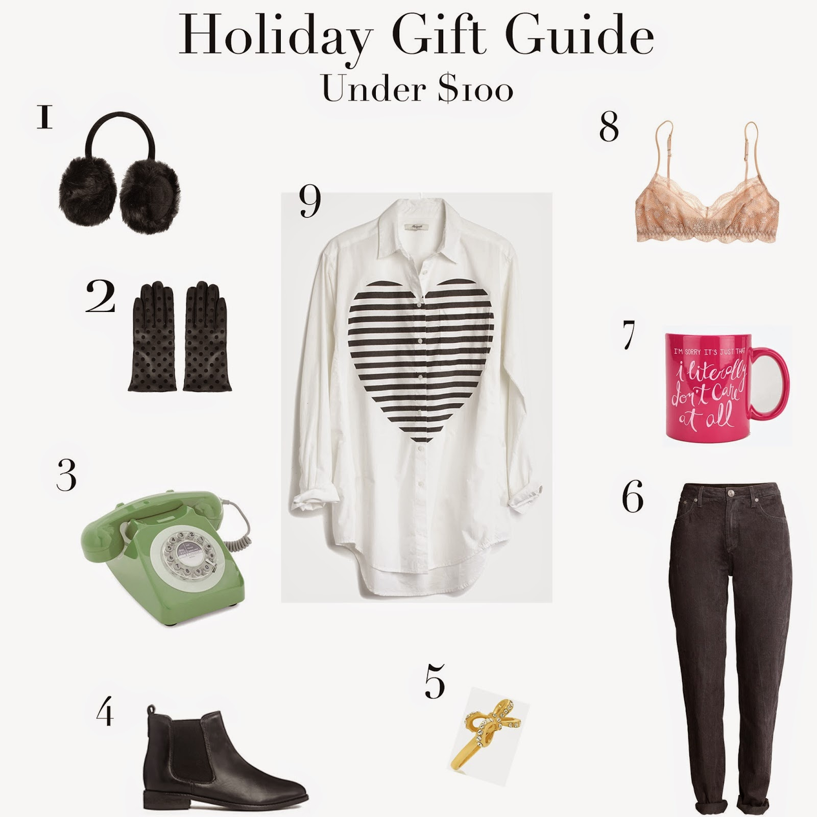 Holiday Gift Guide: Under $100