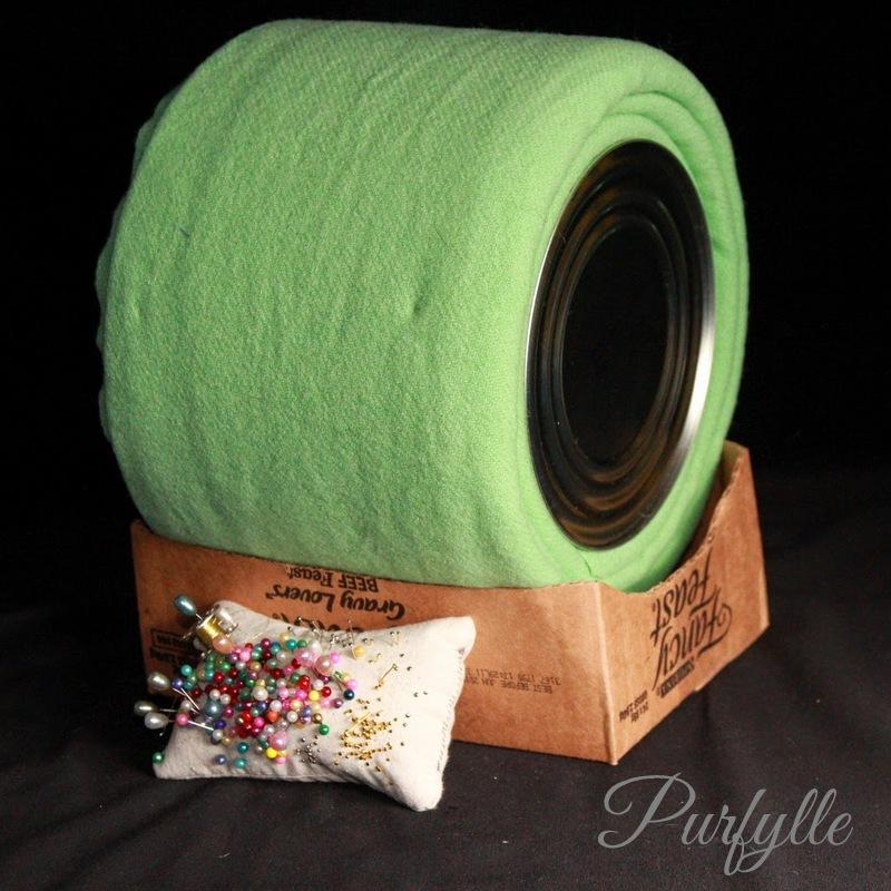 small bobbin lace bolster pillow