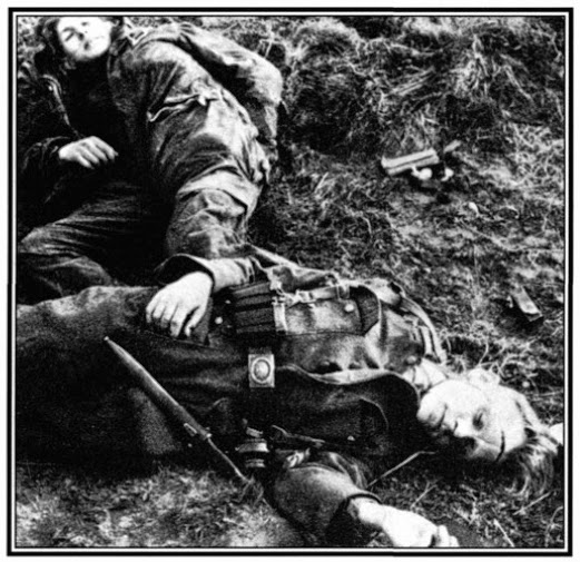 Hitler Youth resting