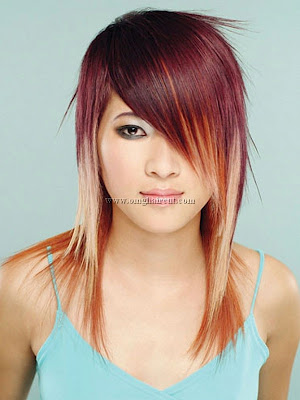 hair machine hair Bold Hair Highlights Ideas