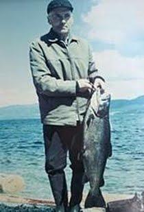Størst dokumentert ørret i Storsjøen tatt på stang av Einar Lomnes i Storsjøen