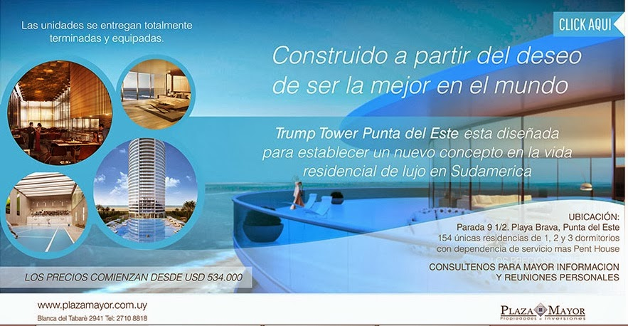Edificio Trump Tower Punta del Este