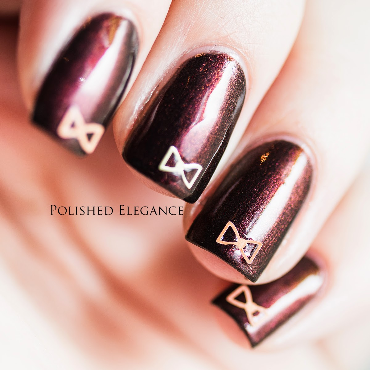 OPI - Muir Muir On The Wall bow confetti nail art bundle monster review