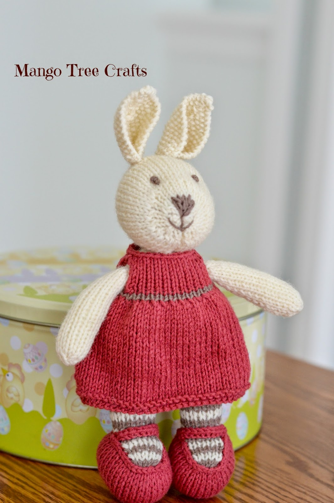 Mango tree crafts knitted bunny girl knitted bunny girl knitted bunny pattern bankloansurffo Choice Image