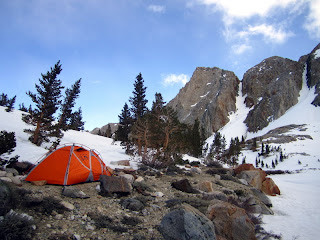 Camp at Red Lake.
