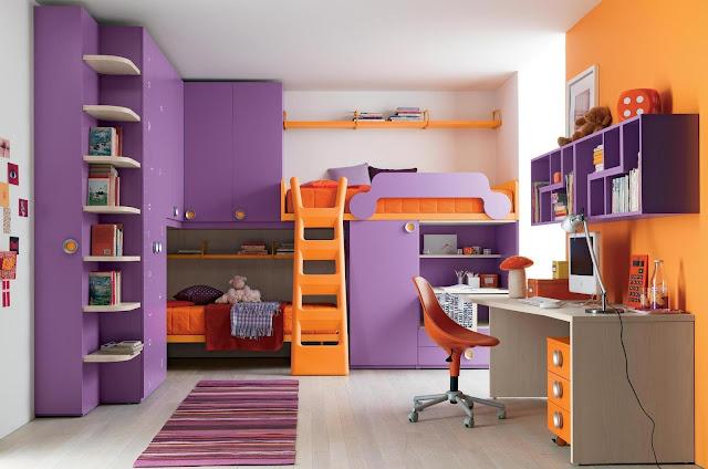 Chambre ado fille design - Idee chambre fille ado ...